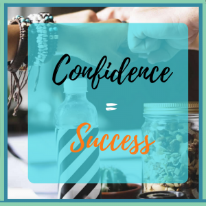 Confidence equals success
